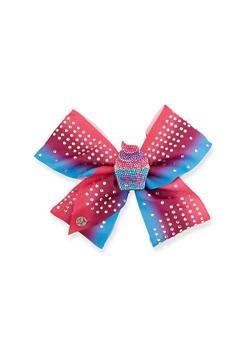 JoJo Siwa Rhinestone Cupcake Bow Clip - 3590049040605