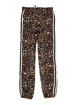 Girls 4-6x Leopard Print Joggers - 3601060580021