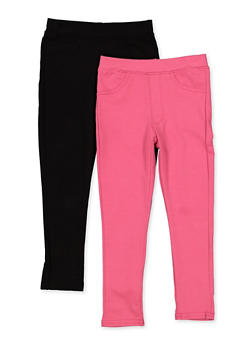 Girls 4-6x Set of 2 Jeggings - 3601063370004