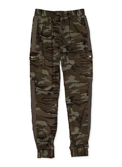 Girls 7-16 Cargo Joggers - 3602051060020