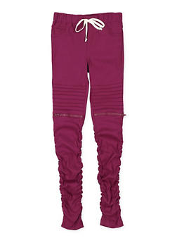 Girls 7-16 Hyperstretch Moto Jeggings - 3602056570017