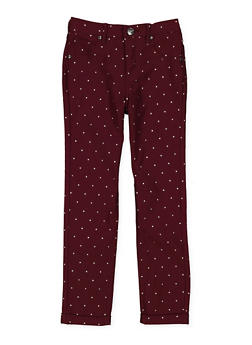 Girls 7-16 Studded Hyperstretch Pants - 3602056570021