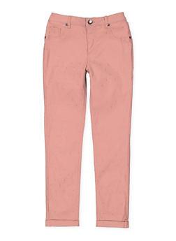 Girls 7-16 Studded Hyperstretch Pants - 3602056570021
