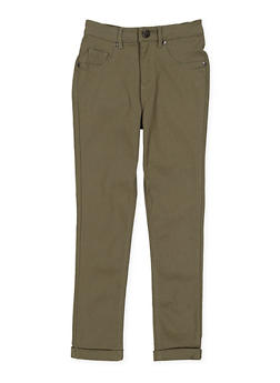 Girls 7-16 Hyperstretch Pants - OLIVE - 3602056570023