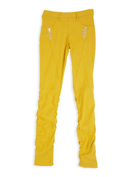 Girls 7-16 Ruched Jeggings - 3602056570030