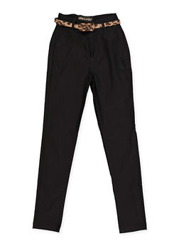Girls 7-16 Hyperstretch Belted Pants - 3602056570031