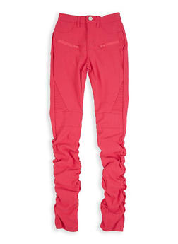 Girls 7-16 Hyperstretch Ruched Pants - 3602056570038