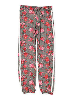 Girls 7-16 Printed Soft Knit Joggers - 3602060580050