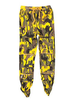 Girls 7-16 Camo Hyperstretch Moto Jeggings - 3602063400015