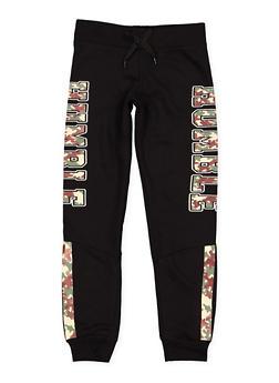 Girls 7-16 Graphic Sweatpants - 3602063400036
