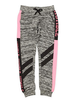 Girls 7-16 Humble Graphic Joggers - 3602063400043