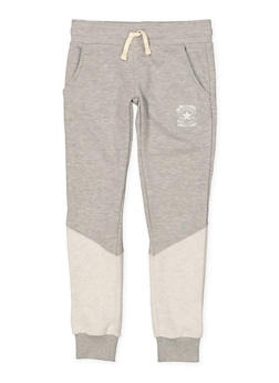 Girls 7-16 Converse Color Block Sweatpants - 3602070340002