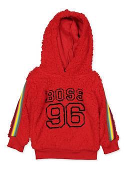 Girls 4-6x Boss 96 Sherpa Sweatshirt - 3605038340133