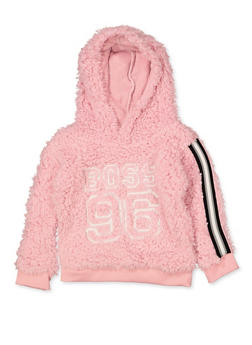 Girls 4-6x Boss 96 Sherpa Sweatshirt - 3605038340133