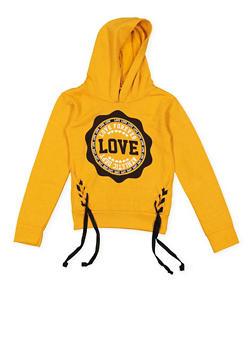 Girls 4-6x Love Graphic Sweatshirt - 3605063400015