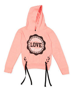 Girls 4-6x Love Graphic Sweatshirt - 3605063400015