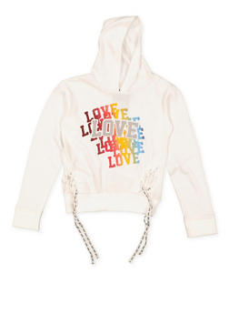 Girls 4-6x Love Graphic Sweatshirt - 3605063400016