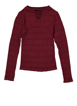 Girls 7-16 Cable Knit Sweater - 3606038340157