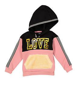 Girls 7-16 Love Graphic Sweatshirt - 3606038341021