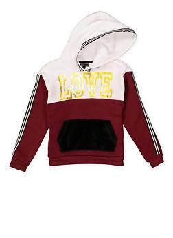 Girls 7-16 Love Graphic Sweatshirt - 3606038341021