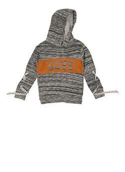 Girls 7-16 Love Graphic Sweatshirt - 3606063400038