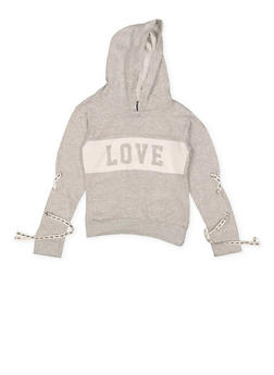 Girls 7-16 Love Graphic Sweatshirt - 3606063400038