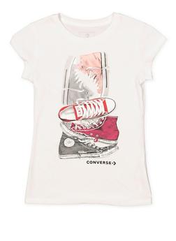 Girls 7-16 Converse Sneaker Graphic Tee - 3606070340003