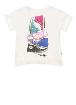 Girls 7-16 Converse Sneaker Graphic Tee - 3606070340005