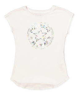 Girls 7-16 Converse Iridescent  Graphic Tee - 3606070340007