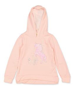 Girls 7-16 Sparkle Wherever You Go Unicorn Sweatshirt - 3606072200005