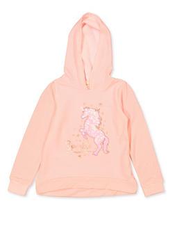 Girls 7-16 Sparkle Wherever You Go Sweatshirt - 3606072200006