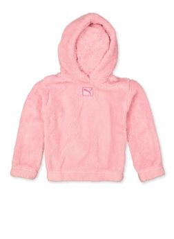 Girls Puma Sherpa Sweatshirt - 3606075230002