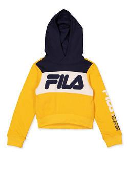 Girls 7-16 Fila Color Block Sweatshirt - 3606075650002
