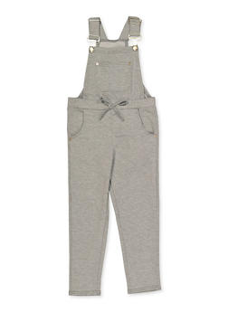 Girls 4-6x Soft Knit Overalls - 3614038340115