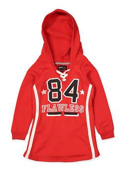 Girls 4-6x 84 Flawless Sweatshirt Dress - 3614038340123