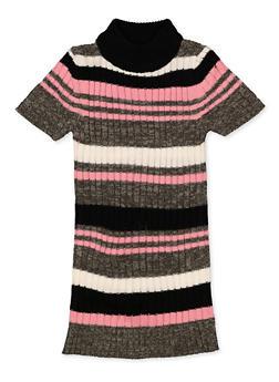 Girls 4-6x Striped Sweater Dress - 3614038340146
