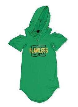 Girls 7-16 Flawless 85 Cold Shoulder Dress - 3615038340096