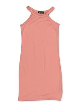 Girls 7-16 Sleeveless Soft Knit Dress - 3615038340100