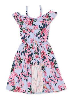 926c86d37 Girls 7-16 Floral Cold Shoulder Maxi Romper - 3615038340115