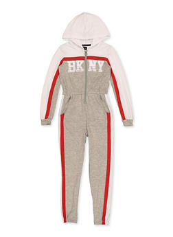 Girls 7-16 BKNY Color Block Jumpsuit - 3615038340133