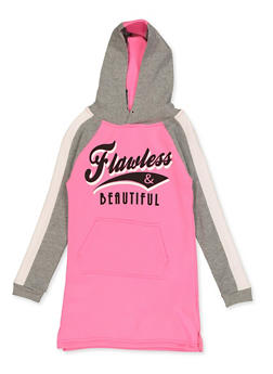 Girls 7-16 Flawless Sweatshirt Dress - 3615038340143