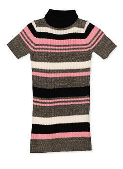 Girls 7-16 Striped Knit Sweater Dress - 3615038340172