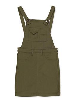Girls 7-16 Hyperstretch Overall Dress - 3615056570001
