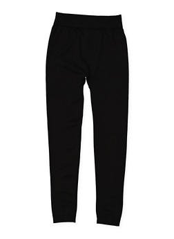 Girls 7-16 Fleece Lined Leggings - 3619054730015
