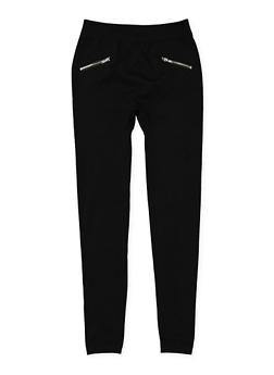 Girls 7-16 Fleece Lined Leggings - 3619054730016