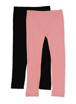 Girls 7-16 Cable Knit Leggings - 3619074410010