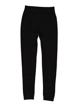 Girls 4-6x Fleece Lined Leggings - 3620054730045
