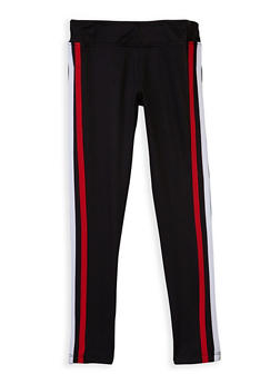 Girls 4-6x Varsity Stripe Leggings - 3620060580021