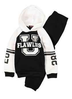 Girls 4-6x Graphic Sweatshirt and Sweatpants Set - 3622038340024