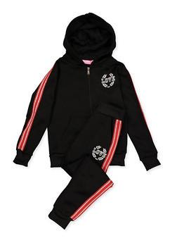 Girls 7-16 Love Queen Sweatshirt and Joggers | 3623056720032 - 3623056720032